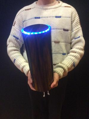 Working 'Alexa' prop (1.5 scale) · By: Matt Lee Newby