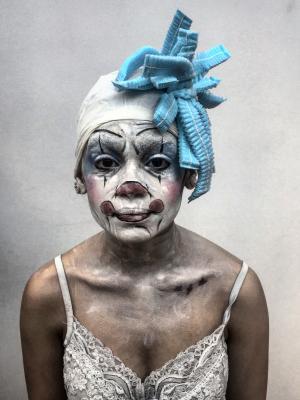 2018 The Clown · By: Nadja Scalzi