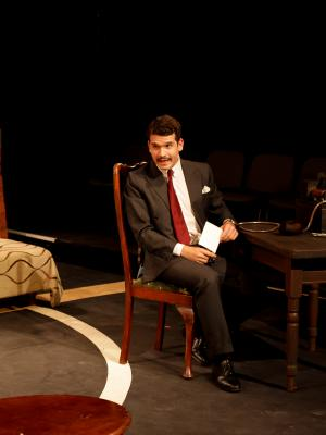 2017 As Alcide Chanal in She's All yours, Corbett Theatre, 2017 · By: Andrew H Williams
