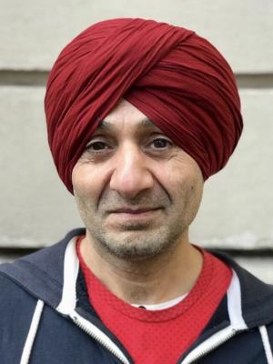 2018 Wearing a Turban · By: Chandru Bhojwani