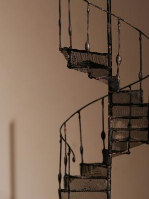 Spiral staircase model