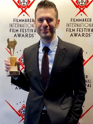 2018 Receiving the award for Best Lead Actor in a Short Film at the London International Filmmaker Festival - Feb 2018 · By: Jeffry DeCola