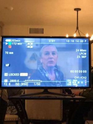"""On set of """"Hound"""""""