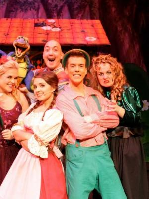 The Witch in 'Hansel and Gretel' UK Theatre Tour