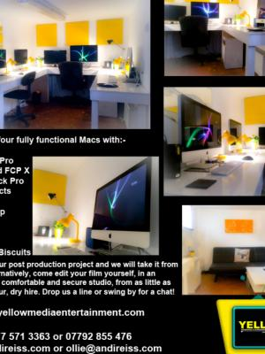 2018 Oxford Editing Suites · By: Andi Reiss