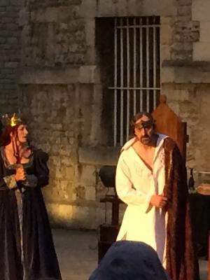 As Macbeth in MACBETH, Oxford Shakespeare Festival, 2017