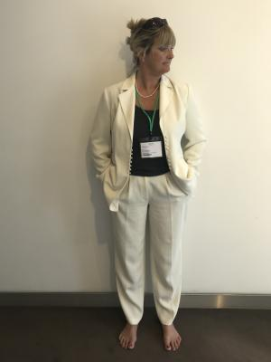 Full length executive suit