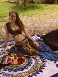 Tina Fogg and myself, Zaria Bellydancers · By: Acacia Overoye