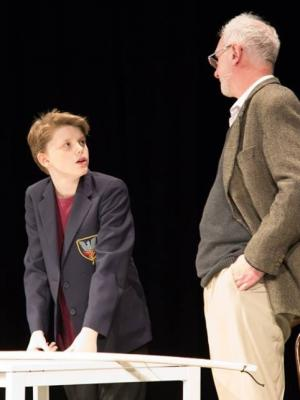 2018 School boy, The 24 Hour Plays · By: Carla Joy Evans
