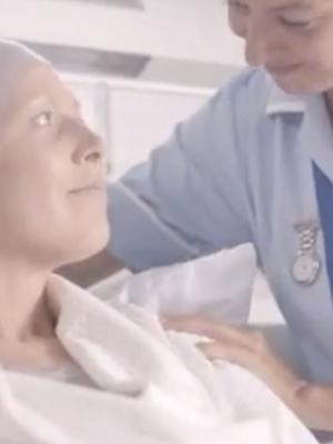 Still from Cancer Research UK Commercial