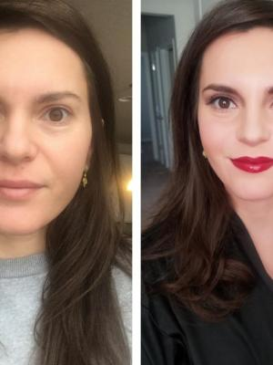 2018 Red Carpet Makeup Before and After Makeup By Cory Taylor Bryant · By: cory taylor bryant