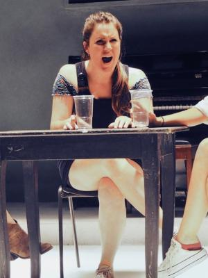 2018 As Grace in 'Manspreading', PEN, Arcola Theatre, 2018 · By: Tracy Wiles