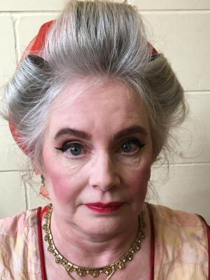 2018 Sandra Prescott as Muriel the Cleaner · By: Linda Doringo