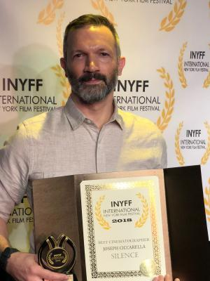 2018 INYFF Best Cinematography Award · By: J. Ciccarella