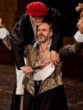 Shylock and Antonio, Merchant of Venice. 2018, Pop Up Globe · By: Pop Up Globe