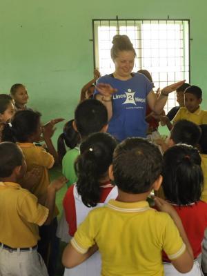 2017 Volunteering in Nepal · By: Anjali Wierny