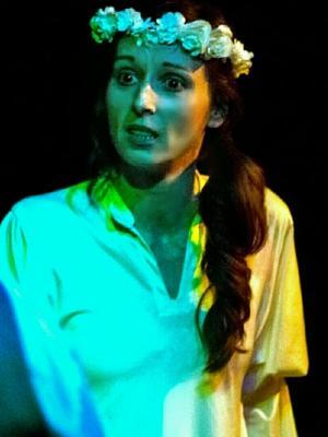"""2018 As The Bride in """"Verde, Agua y Luna"""" · By: Elena Santos"""