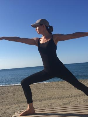 2018 yoga warrior pose · By: JPT