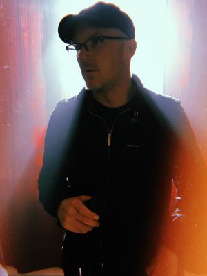 2018 Me on set, backlit. · By: Jeremy Jacoby