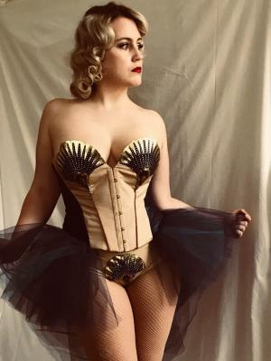 1920s Corset · By: Eleanor Grace Johnson