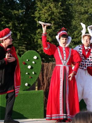 2018 As Queen of Hearts in Alice's Adventures in Wonderland- Chapterhouse Theatre · By: Matthew Ansell