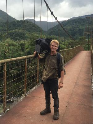 Working on SAS season 2 in the Amazon Jungle.
