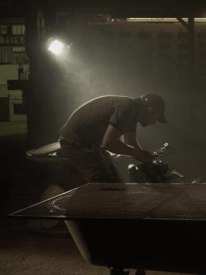 Revolution Music video Industrial