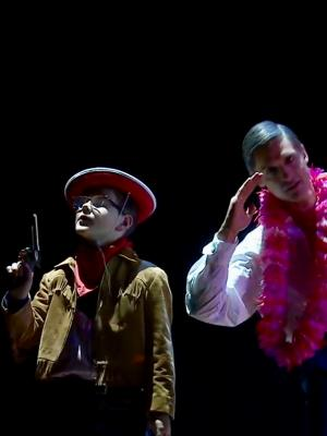 Charlie Southby and Quirijn de Lang in Opera North's Trouble in Tahiti