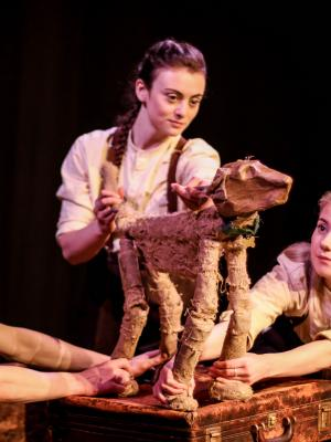 2018 Puppeteer in Ingo's War @ Greenwich Theatre, London · By: Polly Bycroft-Brown Photography