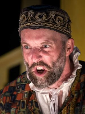 2018 David Sayers as Shylock in 'The Merchant of Venice'. · By: Gordon Scammell