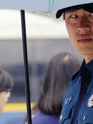 Korean Police Man