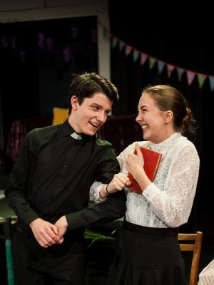 Dr Chasuble and Miss Prism - The Importance of Being Earnest