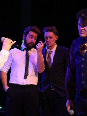 Finch and Wally discuss business - Brotherhood of Man, from How to Succeed in Business Without Really Trying (Cabaret 2018)