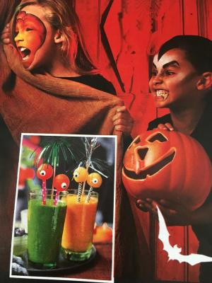 ASDA Good living Magazine Halloween Shoot 2018