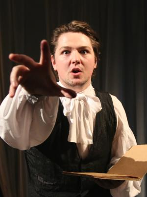 As S T Coleridge in 'The Mariner' for Common Ground Theatre Company