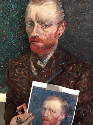 2018 Van Gogh · By: Nadja Scalzi