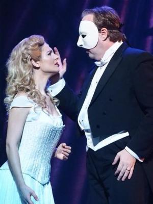 2018 Helen Power as Christine in Phantom of the Opera · By: Tomoko Hidaki