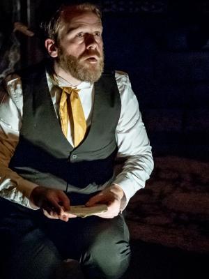 Bram Stoker in 'The Ghost Light'