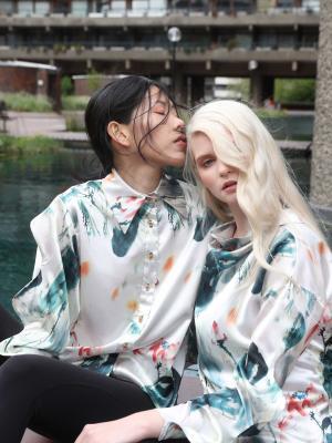 2018 Chen Chen Studio fashion shoot · By: Kiva Huang