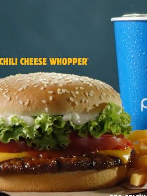 Burger King - Chili Cheese Whopper