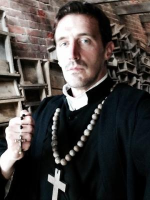 Britain's Most Hauntings (TV program) Ghost priest role.