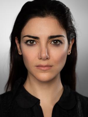 2018 Eleni Skarpari Headshot · By: Cameron Harle