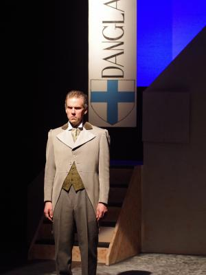 As Baron Danglars in The Count of Monte Cristo