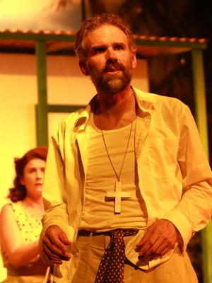 As Rev. Shannon in Night of the Iguana