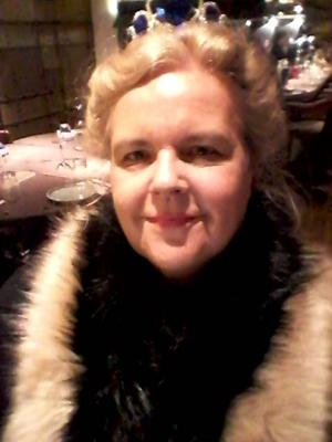 As Natalia Dragomiroff in Murder Mystery Express