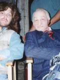 1994 With Robert Englund on the set of THE MANGLER · By: Stephen David Brooks