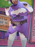 2019 As MooMoo The Cow in Jack and The Beanstalk at Watford Palace · By: Robert Day