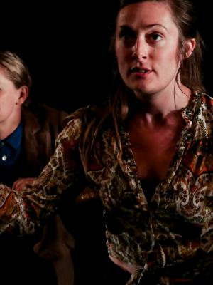 2018 Playing Sylvia Plath in Battleaxe at Camden People's Theatre · By: Andrew H. Williams