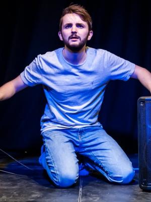 2018 Tim Chapman in 'An Abundance of Tims', Bread & Roses Theatre · By: Lidia Crissafulli