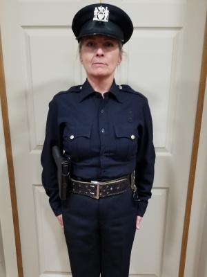 Officer Tracey · By: Tracey Woods
